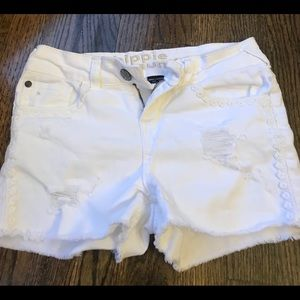 Other - Distressed jean shorts
